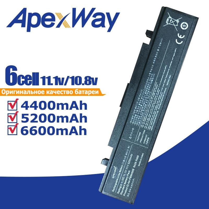 11.1V RV520 batteri for Samsung R428 R429 R430 R438 R460 R425 RF511 AA-PB9NC5B AA-PB9NC6B NP300E5A NP355V5C NP300E5C RC530