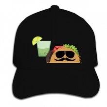 1355360be Impressão Personalizada Tempo Engraçado óculos de Sol Boné de Beisebol do  Hip Hop Taco Burrito Mexicano