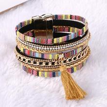 Bohemian Tassel Bracelets