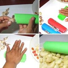 HOT Magic Silicone Peeling Garlic Peeler Helper Useful Kitchen Tool Gadgets 91XJ
