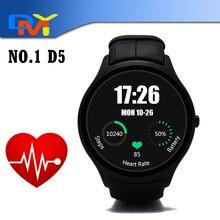 Smart Watch No. 1 D5 Android 4.4 unterstützung Bluetooth IOS & Android GPS Pulsuhr Smartwatches mit SIM slot