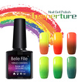 BELLE FILLE Temperature Color Changing Nail Gel Polish Long-lasting Soak-off UV Chameleon Gel Varnish vernis semi permanent