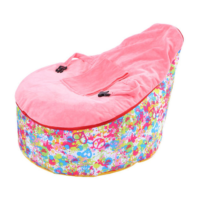 Comfortable Baby Chair Kids Baby Seat Bean Bag Chairs For Kids Baby Sofa  Lazy Sleeping Bean Bag Multifunctional Lounge Chair