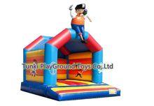Дома Применение мини Надувные батуты детский надувной замок открытый двор играть с Воздуходувы