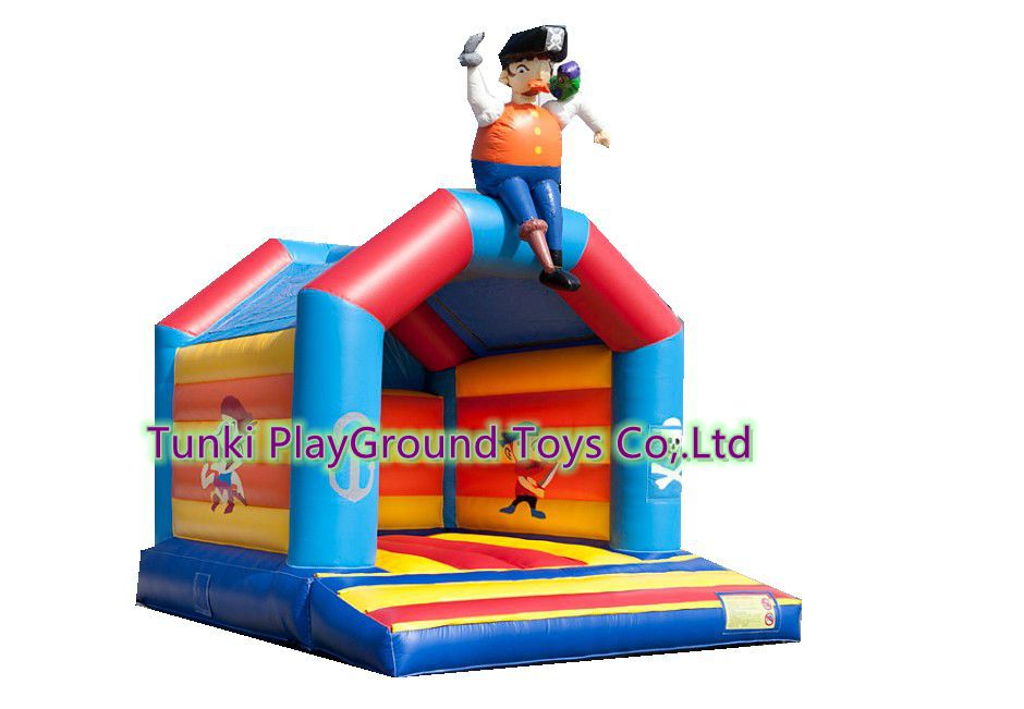 Home Use Mini Inflatable Bouncers Kids Bouncy Castle Outdoor Backyard Playing with Blower