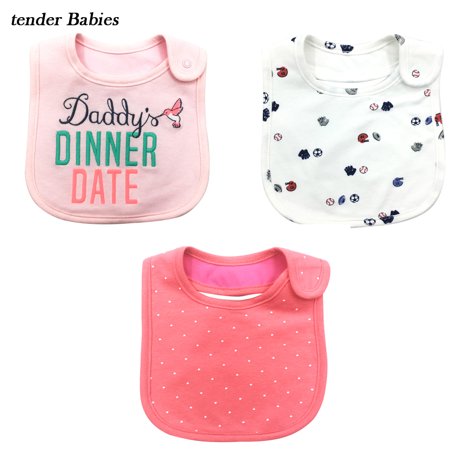 Cute Soft Bib Burp Cloth menino baby Girl Boy Bib Babies Clothing Newborn Baby Bibs 100% Cotton Toddler Dinner Baby boys Bibs