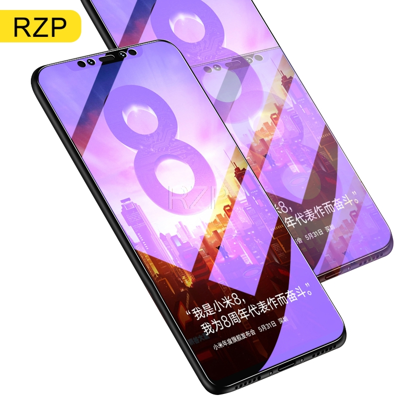 RZP 9H Full Cover Tempered Glass lite SE Explorer Screen Protector For Xiaomi Mi Film