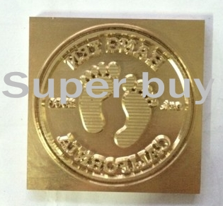 ФОТО Custom Design Debossing Mold, Hot Stamping Copper Mold, Embossing Brass Mould 10x8cm max.  Free shipping