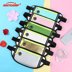 Outdoor Running Waist Bag Waterproof Bag Mobile Phone Holder Jogging Belt Women Gym Fitness Bag Lady Sport Accessories