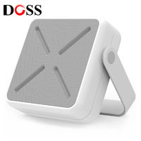 DOSS D 2022 Outdoor Speaker Portable Wireless Bluetooth Stereo Surround Mini MP3 Player Built in Mic Support AUX USB FM Radio