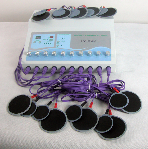 High quality Body slimming fitness Thermionic Electric Muscle Stimulator EMS machine breast care beauty machine TM-502 цена и фото