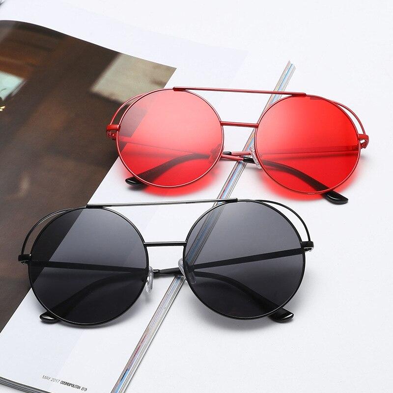 f66d3118cf Detalle Comentarios Preguntas sobre Mincl/2018new moda oversized Round rojo  Gafas de sol mujeres grandes Marcos multi espejo Sol Gafas para mujer lxl en  ...