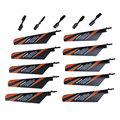 New Arrival 10Pcs Main Rotor Blade + 5Pcs Tail Blade Parts for V911 4CH RC Helicopter RC Accessories