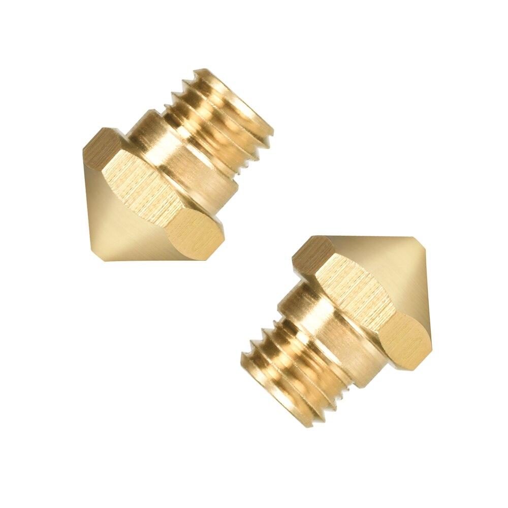 0.6mm SEGOAL 22pcs 3D Printer Nozzles Extruder Nozzle 3D Nozzle 0.2mm 1.0mm MK8 Extruder Head for 1.75mm Anet Makerbot Creality M6 A8 CR-10 0.4mm 0.3mm 0.5mm 0.8mm
