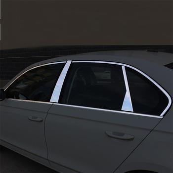 Fenster Körper Außen Durable Chrom Automobil Geändert Auto Styling Aufkleber Streifen 13 14 15 16 17 18 FÜR Volkswagen Bora
