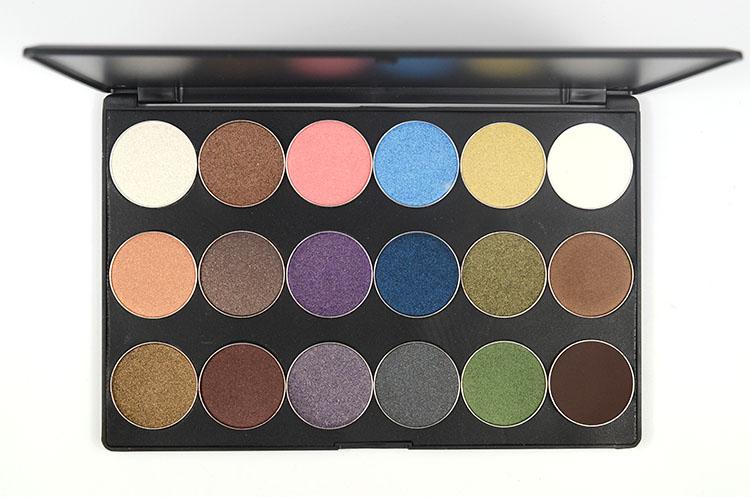 LOVE ALPHA Eyes Makeup 18 Colors Eye Shadow Palette Shimmer Matte Natural Light Eyeshadow Naked Make Up Long-Lasting Glitter (2)