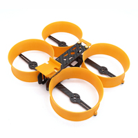 Donut 3 Inch 140mm H type Frame Kit 3D Printed + Carbon Fiber for RC Drone FPV Racing 75.5g