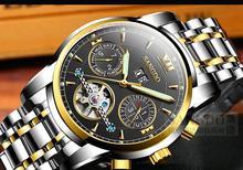 40mm Comercial Sangdo reloj Automático Uno Mismo-Viento reloj de Cristal de Zafiro de Alta calidad 2016 nuevos hombres de la moda 0002
