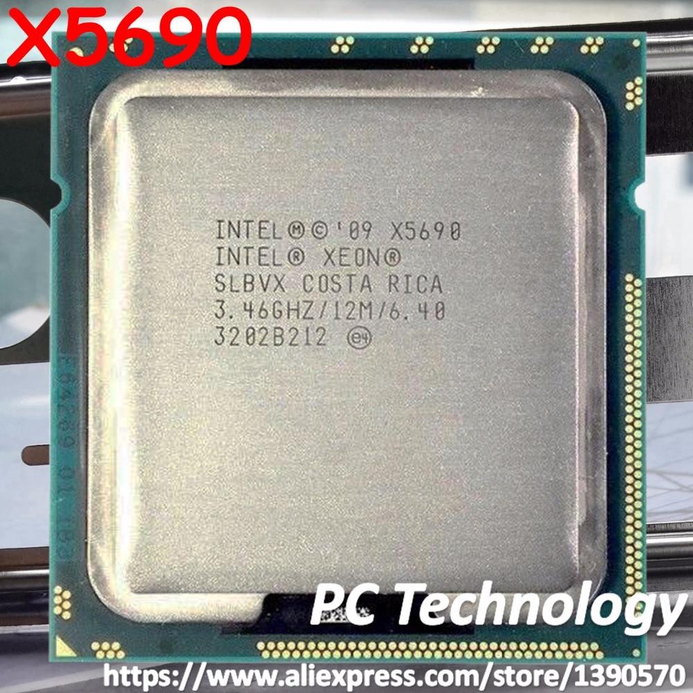 Intel SLBVX Xeon X5690 LGA 1366//Socket B 3.4GHz Server CPU