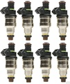 Set (8) 42lb EV1 Inyectores De Combustible para GM LT1 LS1 LS6 Ford Mustang DOHC SOHC 440cc
