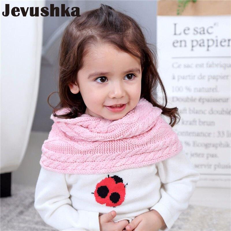Winter Knit Infinity Baby Scarf for Girl Baby Bibs Warm Poncho SF004
