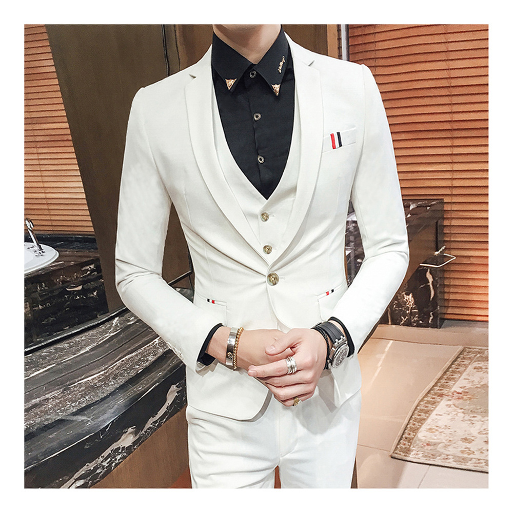 Sent Solide D'affaires red Coréenne gray Costumes sky Nouveaux vestes De Mariage Fit khaki Modèles Costume Thank Already Mode Pour purple Slim Pantalon white Hommes Gilet Smokings Couleur Masculin black Blue Boutique YY1wCqt