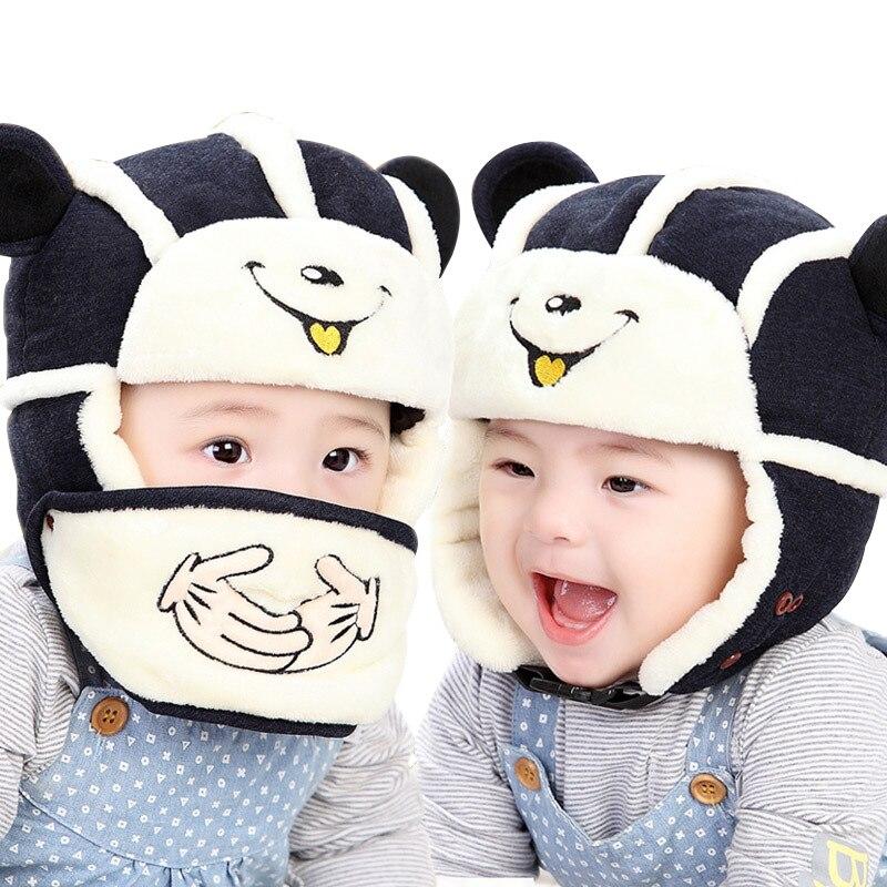 Aliexpress.com: Comprar Oído proteger bebé sombrero de invierno ...