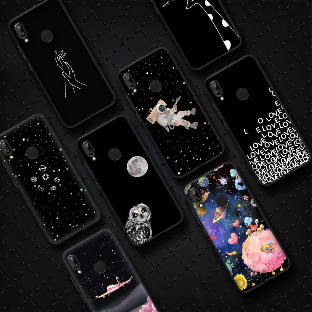 Animal Bonito Da Forma dos desenhos animados Matte Capa Case para Nota Redmi 7 Pro 5 4 3 2 Pintura Projeto Fresco caixa do telefone para Redmi Pro S2