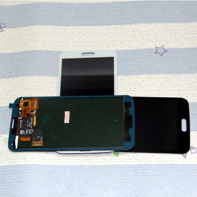 Display untuk Samsung Galaxy S5 G900F untuk Samsung Galaxy S5 LCD Layar Sentuh Digitizer Perakitan
