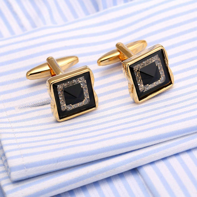 Vagula Fashion Silver Wedding Cufflink Triangle Mens Cuff Links Fashion Mens Gift French Shirt Cufflink 148 2019 New Fashion Style Online Jewelry & Accessories