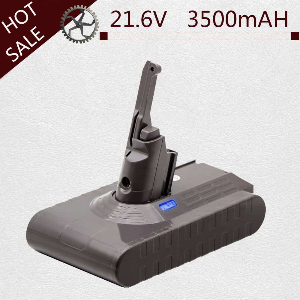 V8 3500mAh 21.6V Battery For Dyson V8 Battery Absolute V8 Animal Li-ion Vacuum Cleaner Rechargeable BATTERY 3.5Ah