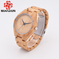 SIHAIXIN Deer Head Wood Mens Watch Fashion Limited Edition Series Of Wooden Watches With Top Brand