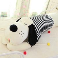 New Hot 50cm 70cm Plush Toy Doll Large Dog Lying Prone To Sleep Soft Stuffed Long