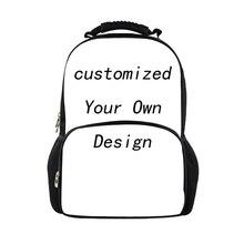 3be39816bb4b FORUDESIGNS Custom Women Men Fashion School Backpack Schoolbag For  teenagers Large Shoulder Bag Korean Mochila Escolar