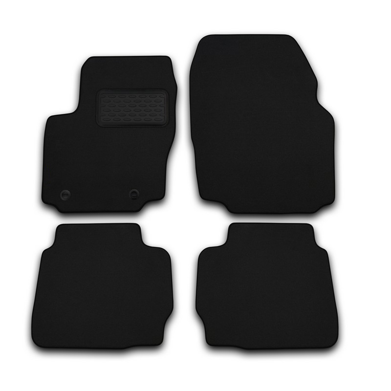 Mats in the salon For VOLVO XC70 AUTOMATIC TRANSMISSION 2007->, внед... 4 PCs (textile) mats in the salon for volvo xc70 2007 4 pcs polyurethane