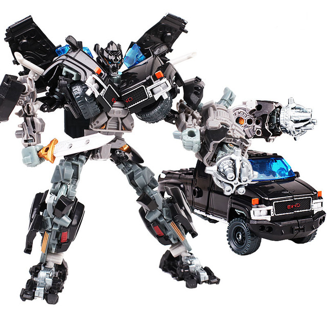 Classic Transformation Ironhide Film Movie Dark Of The Moon Leader Truck model Leader 18cm  Action Figure Robot Toys