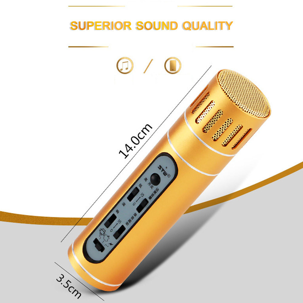 Sunshine Tipway Kondensor Mikrofon Mic Karaoke Player Rekaman Omni Kabel Cina 135 Audio 1 Pengisian Earphone Panduan Pengguna Bahasa Inggris