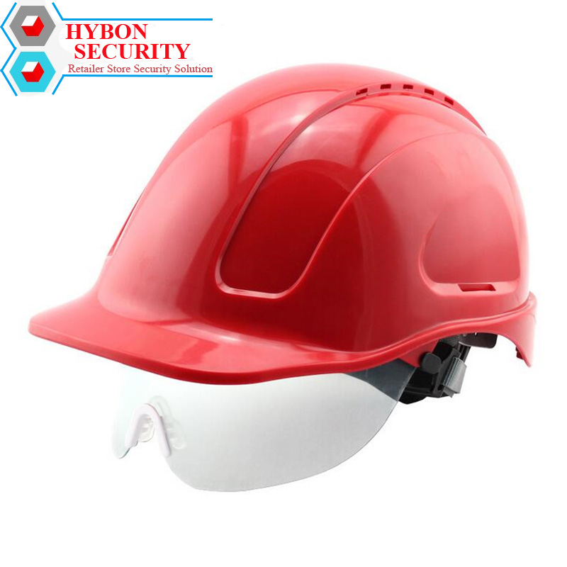 HYBON Hard Hat Safety Fast Helmet Level ABS Anti-smash Breathable Safety Helmets Construction Solar Fan Hat цена