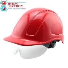 HYBON Hard Hat Safety Fast Helmet Level ABS Anti-smash Breathable Safety Helmets Construction Solar Fan Hat