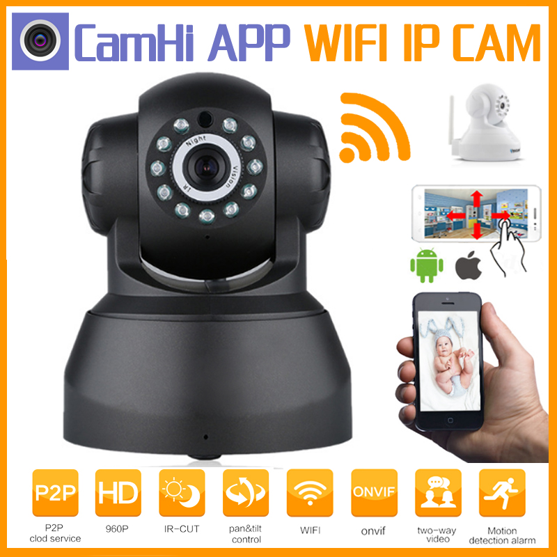 Hot! Home Security Hd Cctv IP Camera 720P Wireless Smart WI-FI Audio Record Surveillance Baby Monitor Night Vision infrared P2P home security ip camera wireless smart wifi camera wi fi audio record surveillance hd mini cctv camera night vision network 2pcs