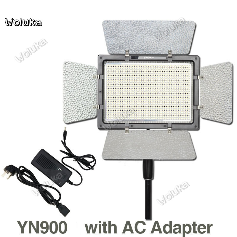 YONGNUO-YN900-YN-900-LED-Video-Light-Photo-Lighting-with-Power-Adapter-High-CRI-95-3200K