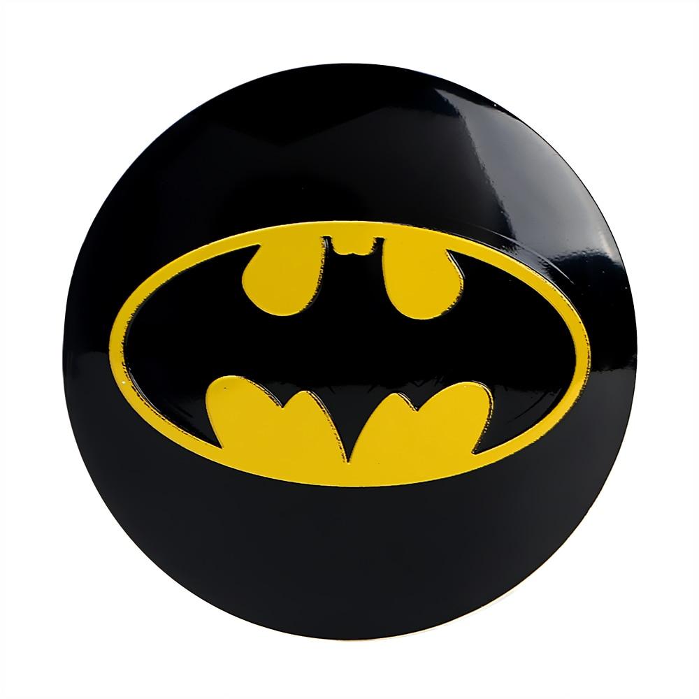 BBQ @ FUKA Auto Batman Emblem aufkleber Radmitte Radkappen Abdeckung ...