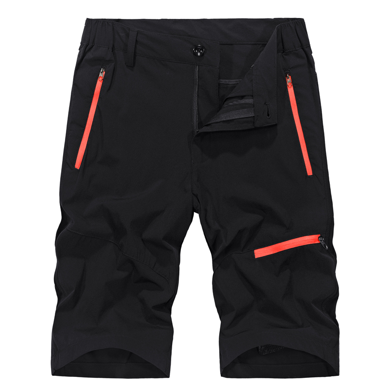 2018 Summer Outdoor Sports Shorts Men Knee-Length Stretch Waterproof Quick Dry Camping Hiking Shorts Men Plus Size 5XL