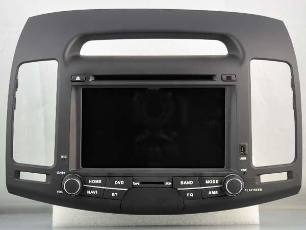 Android 6.0 Carro DVD GPS para HYUNDAI ELANTRA (2007-2011) Ligação espelho 2 GB RAM auto UNIDADES de CABEÇA multimedia Stereo SAT nav 4g lite