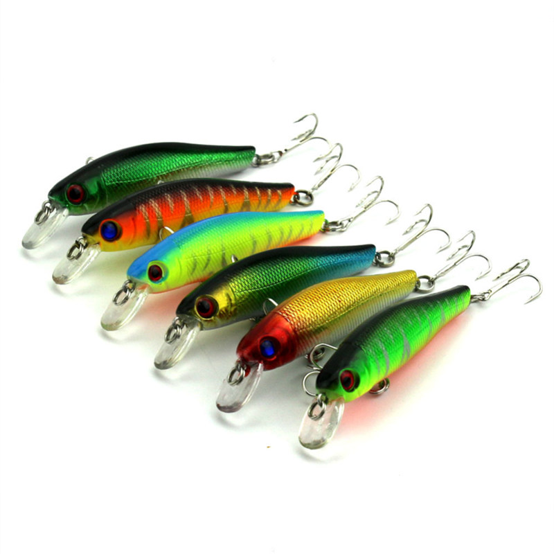 1PCS 8.5cm 9.0g Fishing Lure Minnow Hard Bait With Three Fishing Hooks Fishing Tackle Lure 3D Eyes Crankbait MI011 tsurinoya fishing lure minnow hard bait swimbait mini fish lures crankbait fishing tackle with 2 hook 42mm 3d eyes 10 colors set