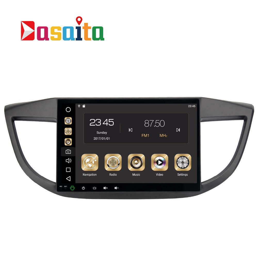 2 din Autoradio GPS Android 8.0 Pour Honda CRV 2012 2012 2014 2015 CR-V Voiture Radio GPS Navigation PX5 4 Gb + 32G Octa-Core