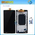 Запасные части Для LG Spirit H440N H440 C70 H442 жк-дисплей с сенсорным экраном дигитайзер + рамка 1 шт. бесплатная доставка + инструменты
