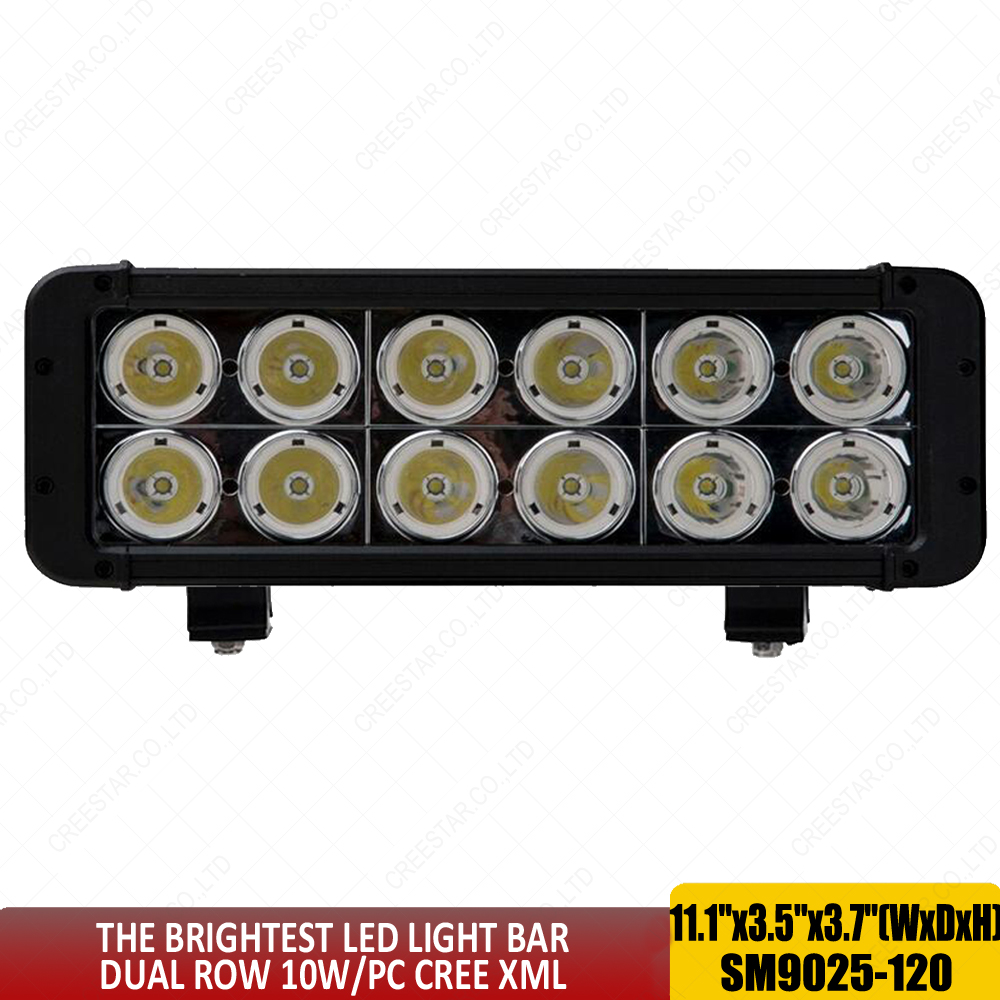 Xmitter led light bar 10 degrees 12 leds dual row 10wpc xml work xmitter led light bar 10 degrees 12 leds dual row 10wpc xml work light bar 12v 24v led work lights 120w led driving lights x2pc in light barwork light aloadofball Image collections