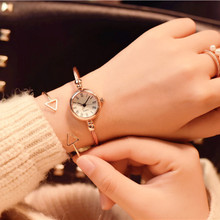 Fashion Bracelet Watch Girls students Simple Compact Rose Go