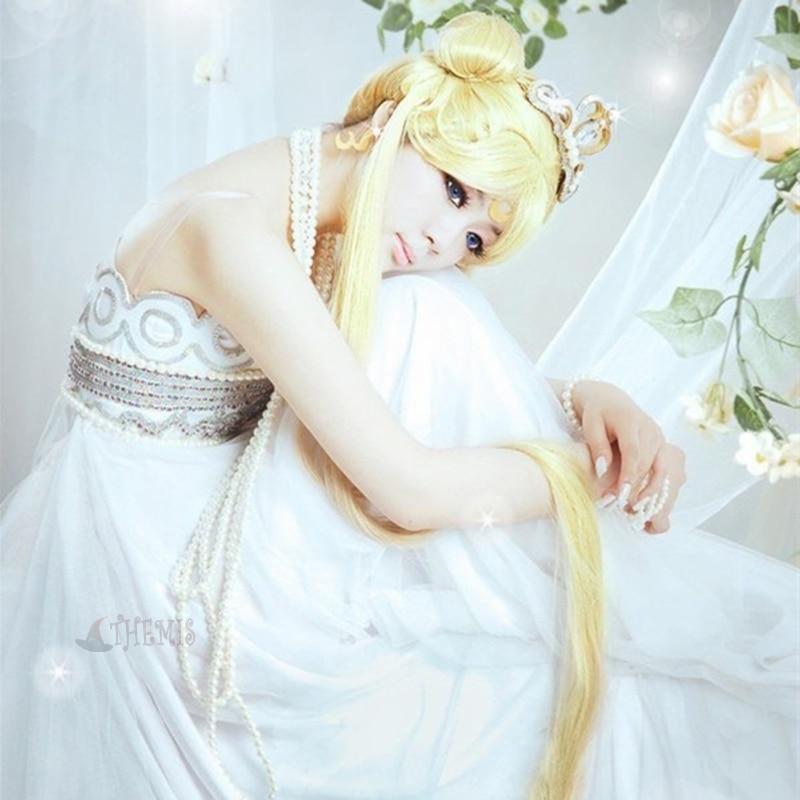 Athemis Sailor Moon Princess Serenity Cosplay Costumes